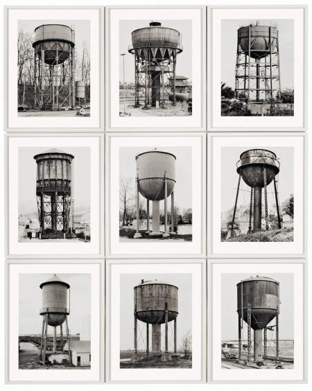 Bernard & Hilla Becher, Water towers
