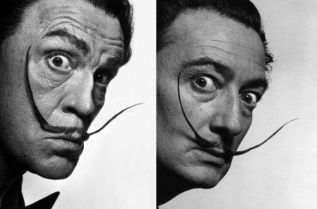 Sandro Miller, Philippe Halsman / Salvador Dalí (1954), 2014