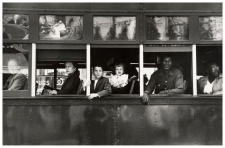Robert Frank, Tram, New Orleans, 1955