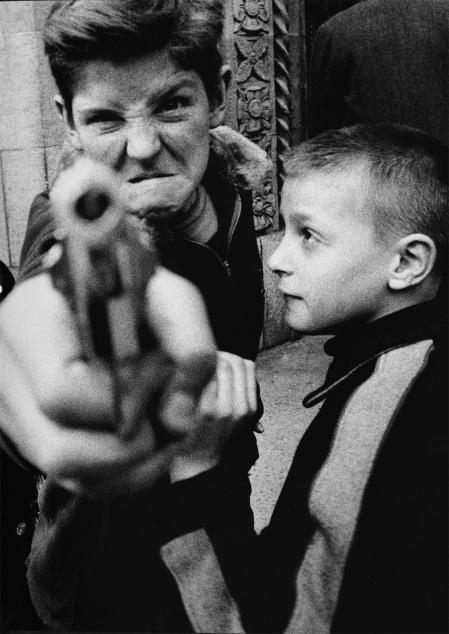 William Klein, Minigang, Amsterdam Avenue, New York, 1954