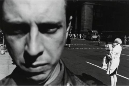 Lee Friedlander, Self-Portrait, 1966