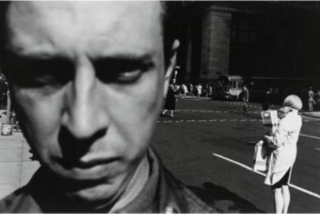 Lee Friedlander, Self-Portrait, 1966