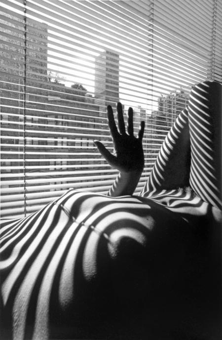 Nudo Zebrato, New York, 1998 ©Lucien Clergue