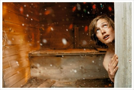 ©Ryan McGinley, Jonas Barn Snow Disco, 2008