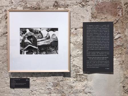 Stefano Fantini, Allestimento mostra Giacomelli, 8 stampe vintage