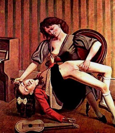 ©Balthus, La lezione di chitarra, 1934