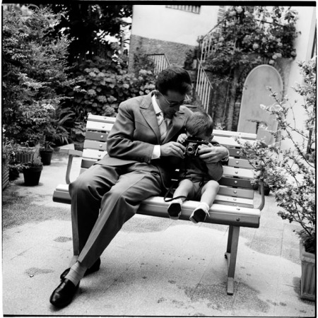 Efrem Raimondi, Con mio padre (fotografia di mia madre), 1962