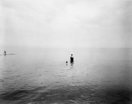 Harry Callahan, , Eleanor and Barbara in the Water 1952-1953.